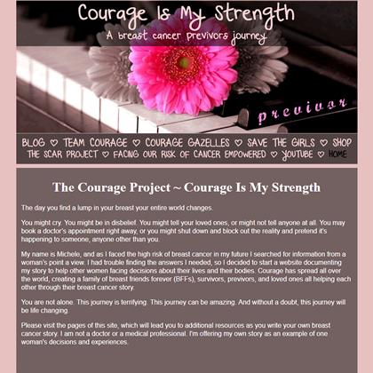 courageismystrength testimonial