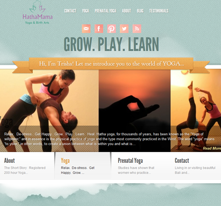 WordPress Repair Testimonial by Hatha Mama Yoga
