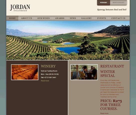 JordanWines.com WordPress Fix Testimonial