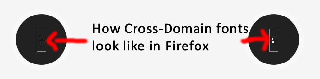 show Cross-Domain Fonts in FireFox