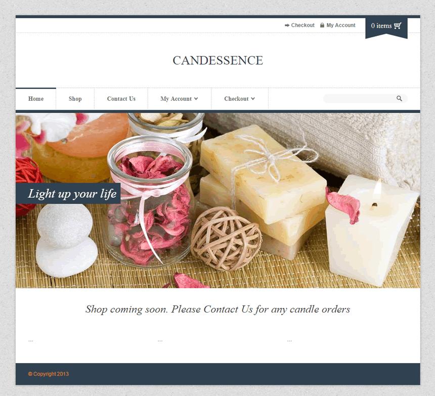 Candessence.com.au testimonial for WordPress Fix