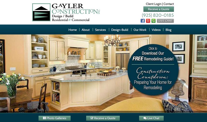 gaylerconstruction.com website repair fixmywp