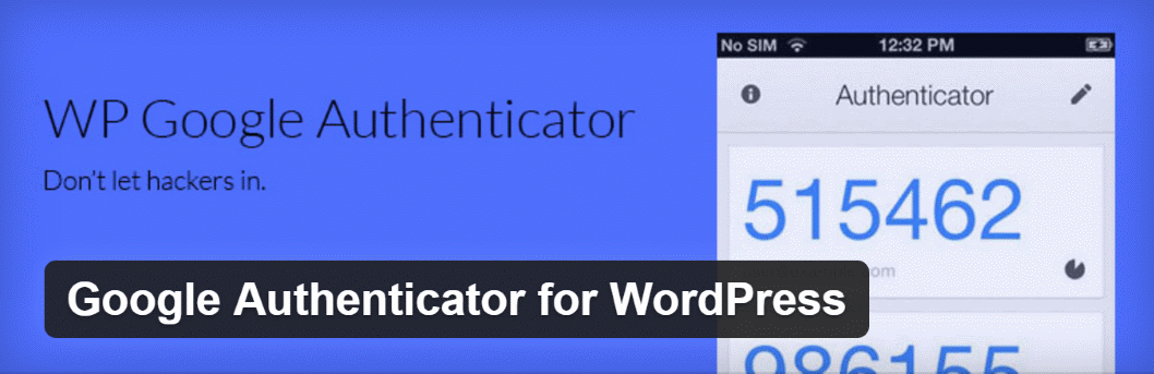 Google Authenticator for WordPress