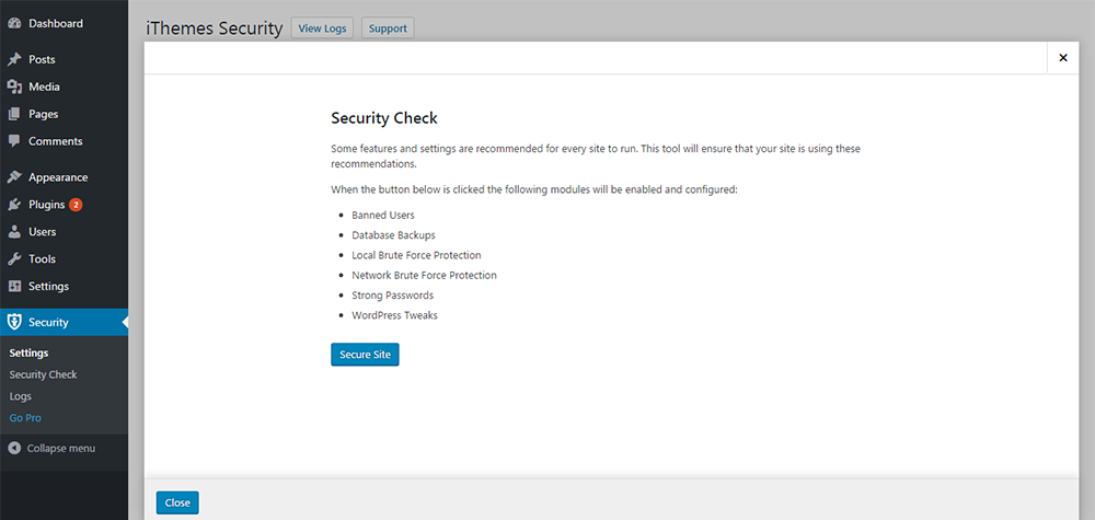 ithemes-security-one-click-enabling