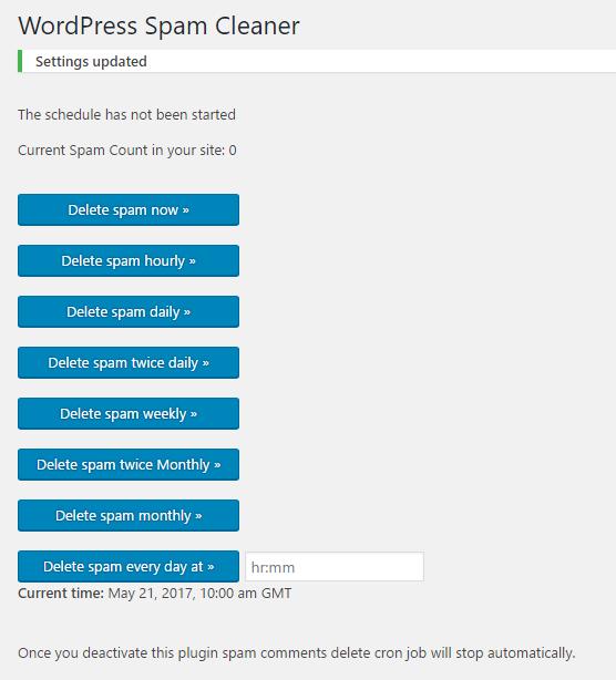wordpress-spam-cleaner