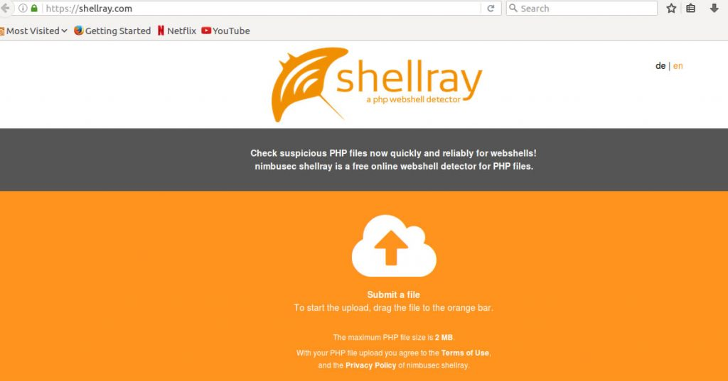 shellray-malware-scanner-files