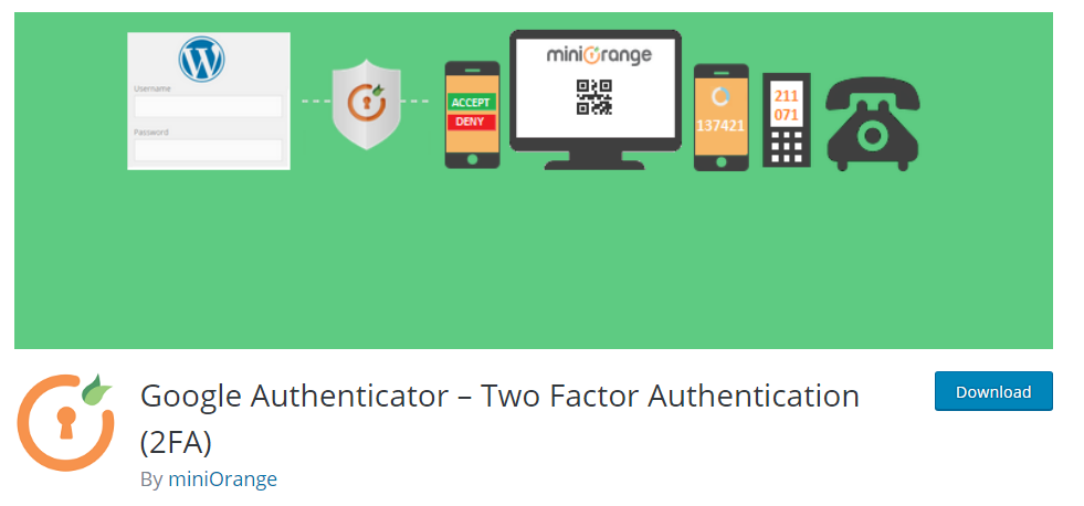 Keep your WordPress site from getting Hacked Using Two-Factor Authentication 2FA